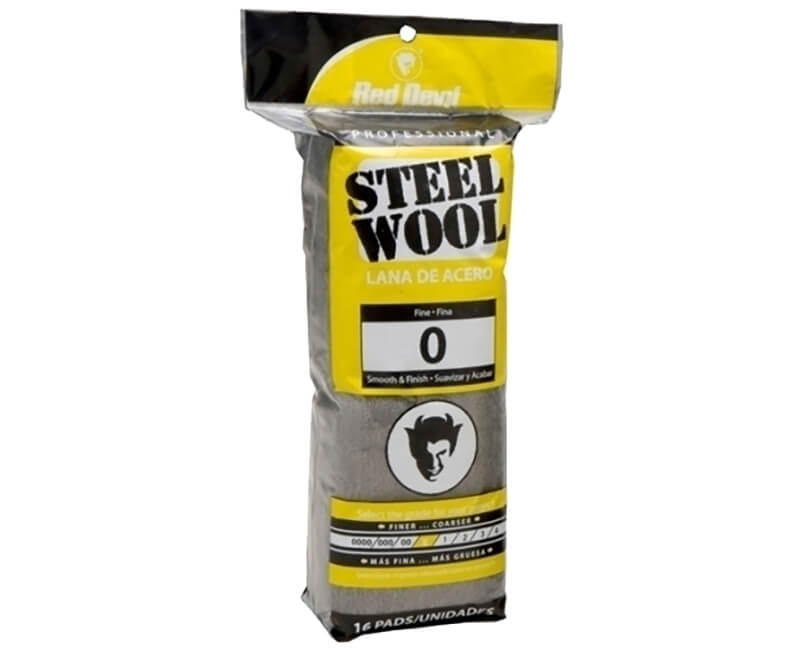 Fine Steel Wool - 16 Pack