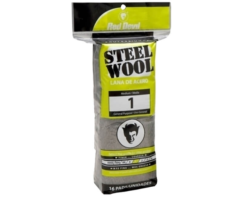 Medium Steel Wool - 16 Pack