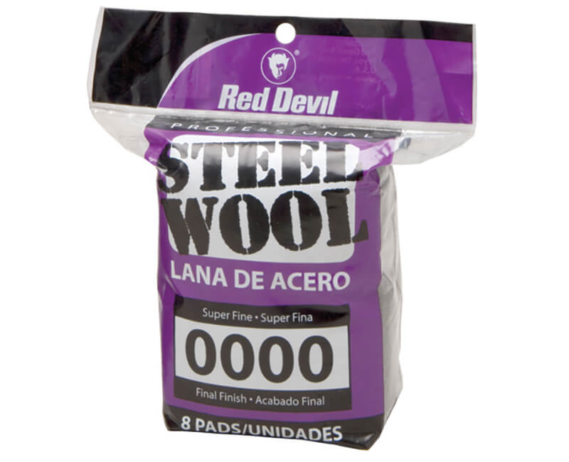 Super Fine Steel Wool - 8 Pack