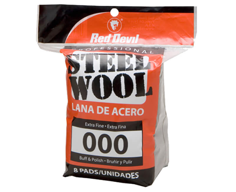 Extra Fine Steel Wool - 8 Pack