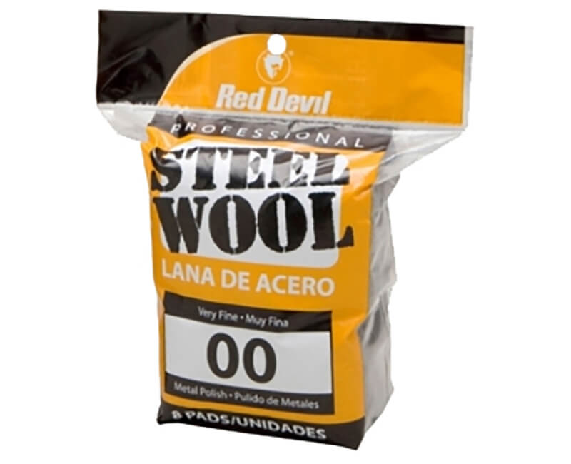 Very Fine Steel Wool - 8 Pack
