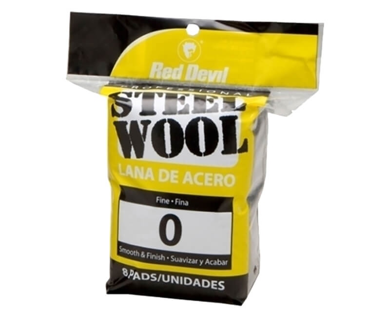 Fine Steel Wool - 8 Pack
