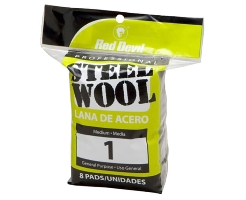 Medium Steel Wool - 8 Pack