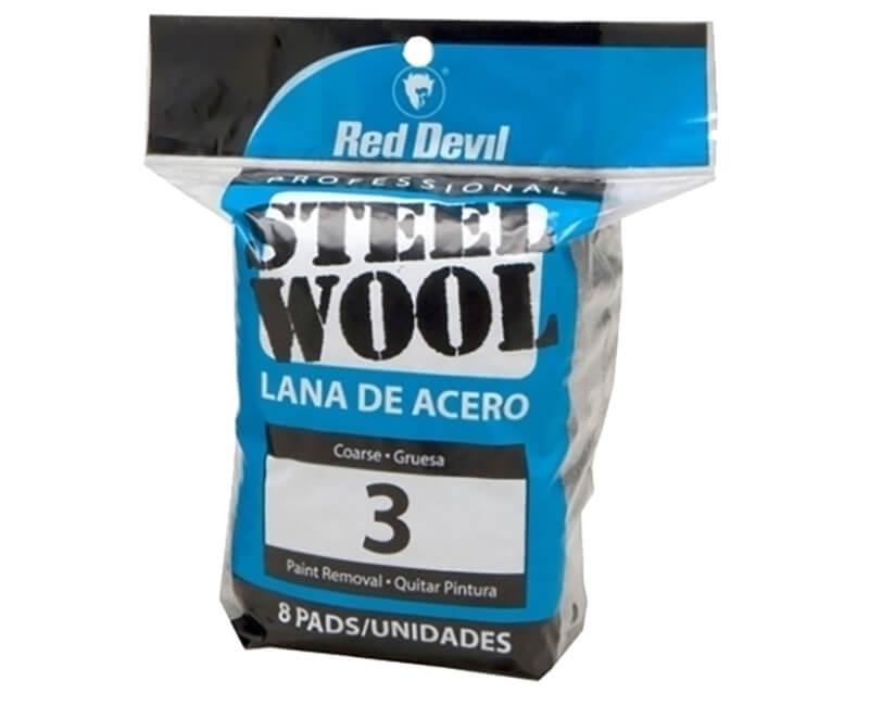 Coarse Steel Wool - 8 Pack