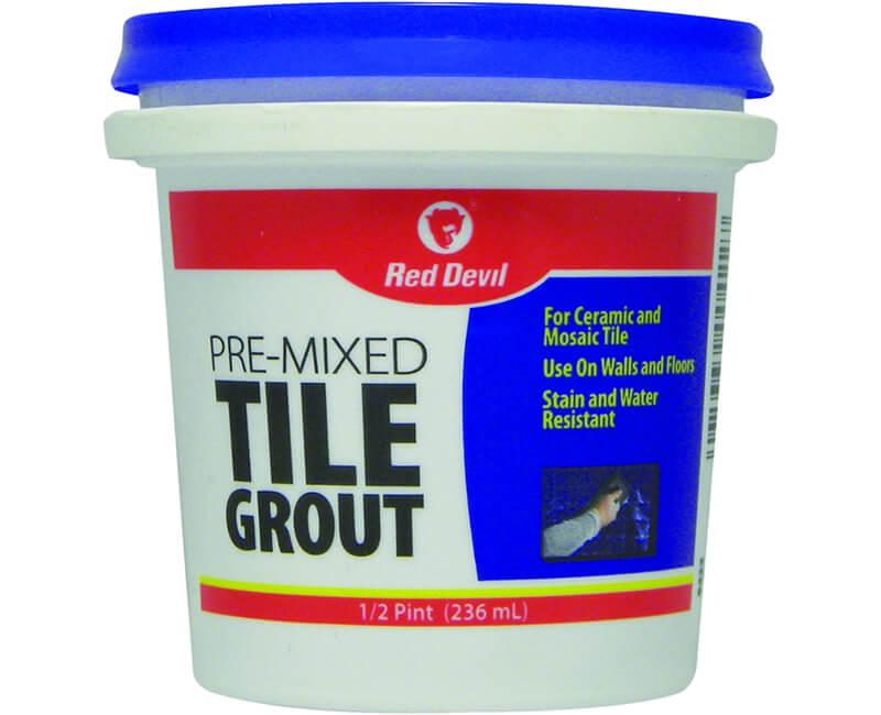 1/2 Pt. Pre-Mixed Tile Grout
