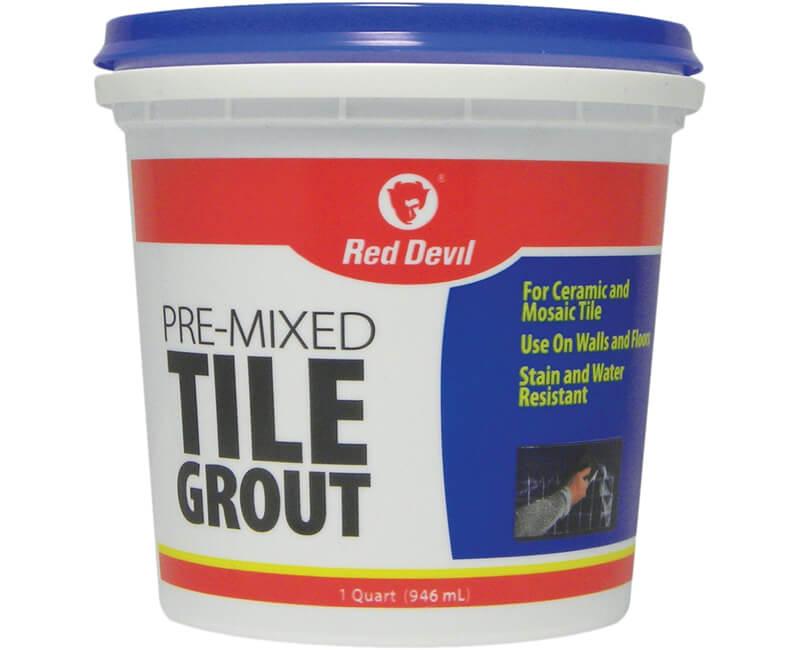1 Qt. Pre-Mixed Tile Grout