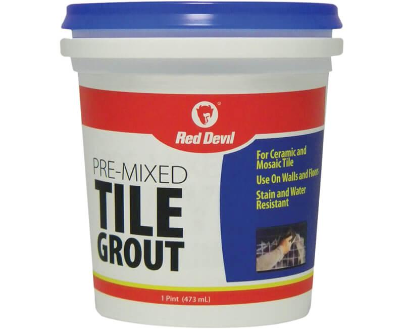 1 Pt. Pre-Mixed Tile Grout