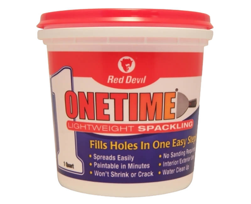 1 Qt. One Time Spackling