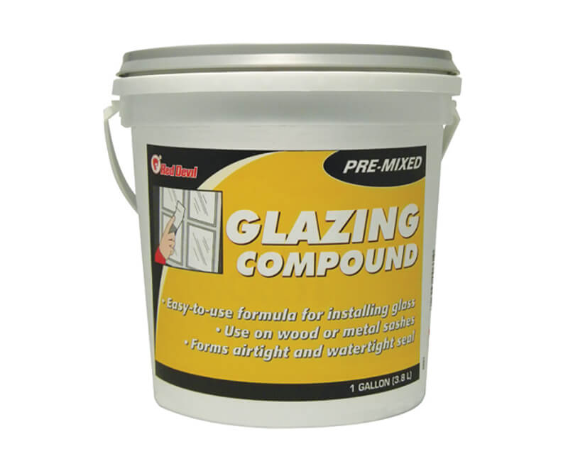 1 Gal. Glazing Compound