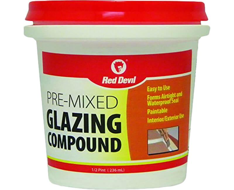 1/2 Pt. Glazing Compound