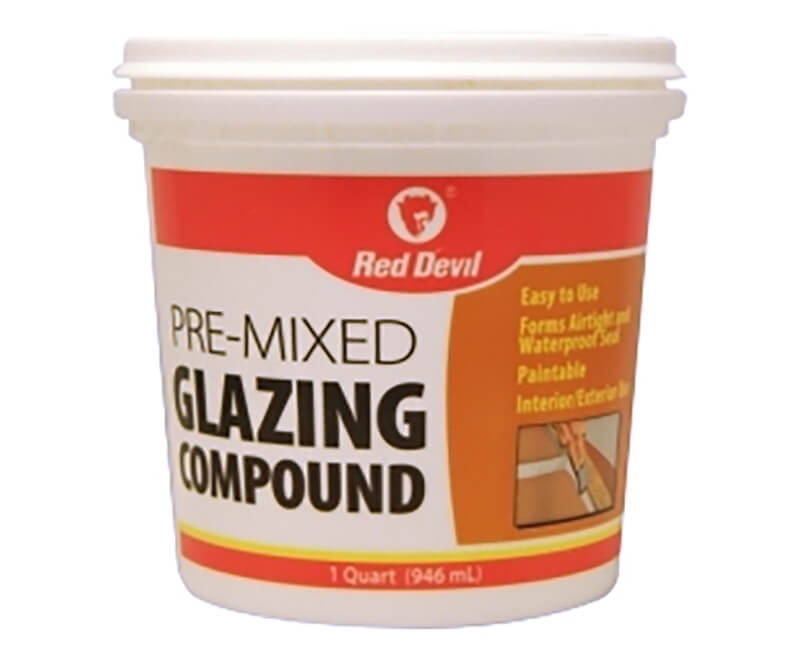 1 Qt. Glazing Compound