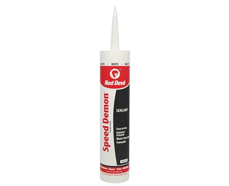 10 Oz. Speed Demon Acrylic Caulk - White