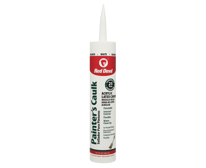10 Oz. Speed Demon Acrylic Caulk - White