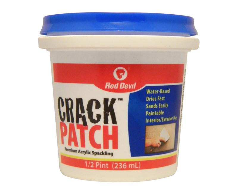 R/D CRACK PATCH SPACKLE TUB 1/2 PINT