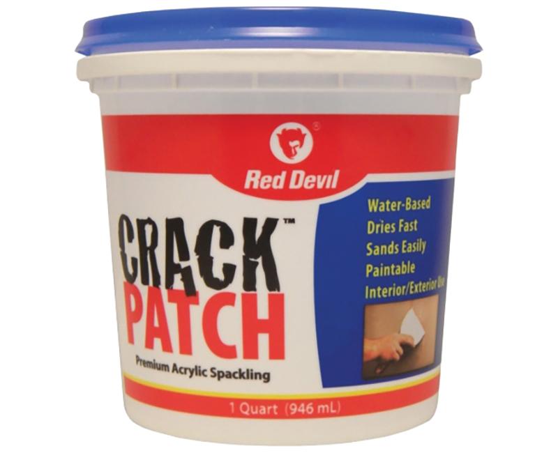 R/D CRACK PATCH SPACKLE TUB QUART