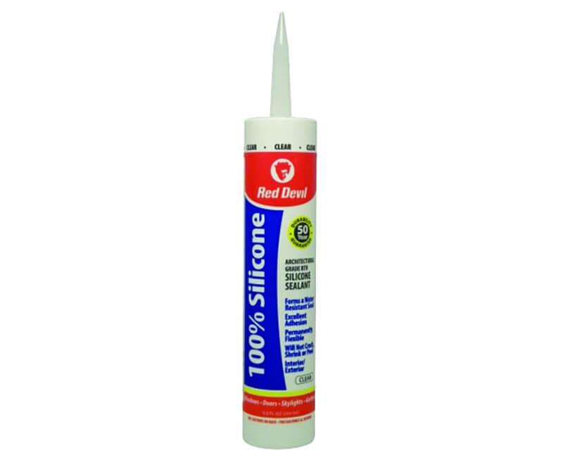 9 Oz. 100% Sillicone - Clear