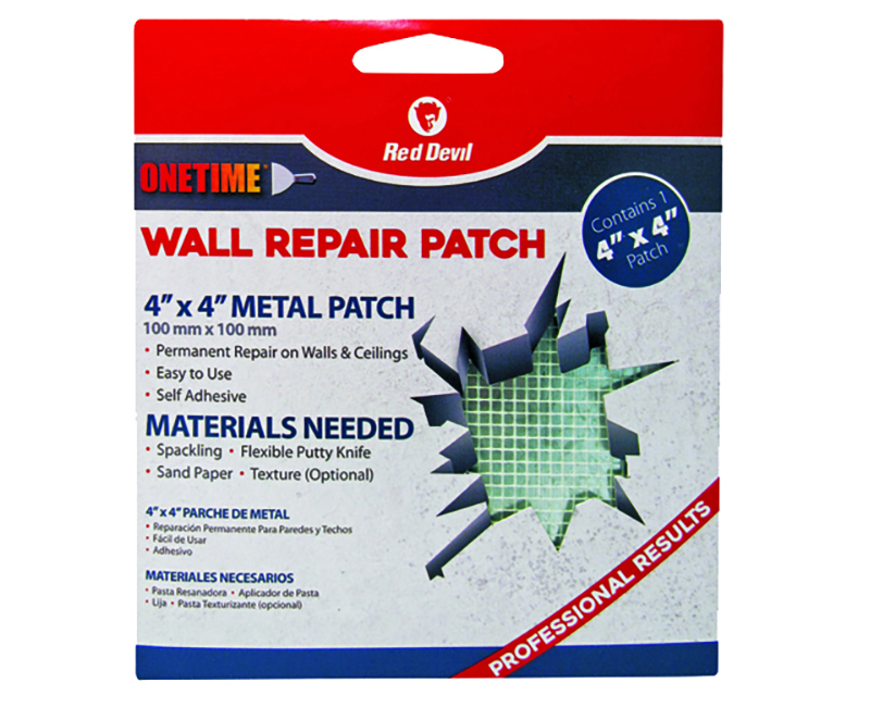 """4"""" X 4"""" Onetime Wall Repair Patch"""