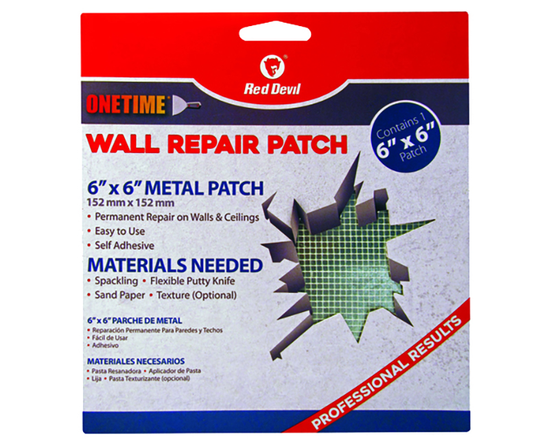 """6"""" X 6"""" Onetime Wall Repair Patch"""