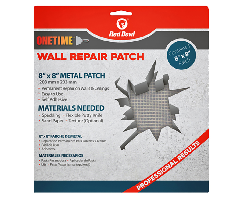 """8"""" X 8"""" Onetime Wall Repair Patch"""
