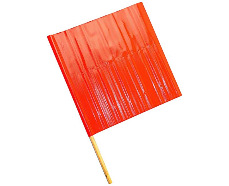 "24"" SAFETY ORANGE FLAG"
