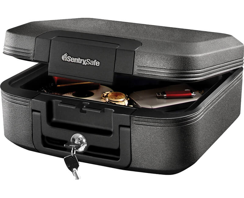Waterproof Security Chest With Key Lock