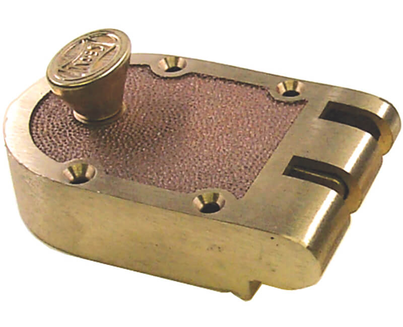 Bronze Jimmyproof Cylinder - Flat Strike