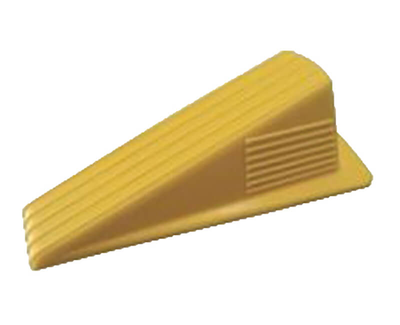 Heavy Duty Jumbo Yellow Rubber Wedge - 1 Per Card