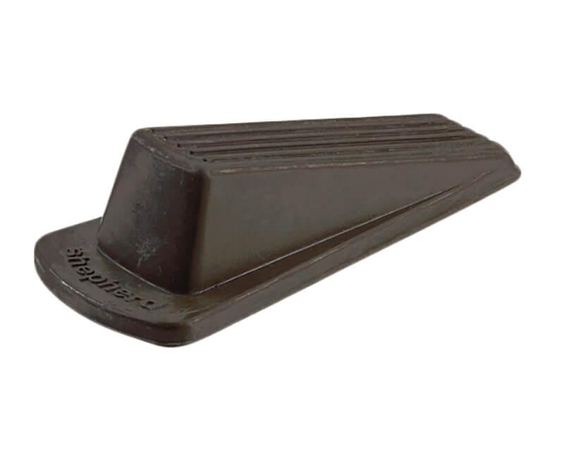 Heavy Duty Brown Rubber Wedge - 1 Per Card