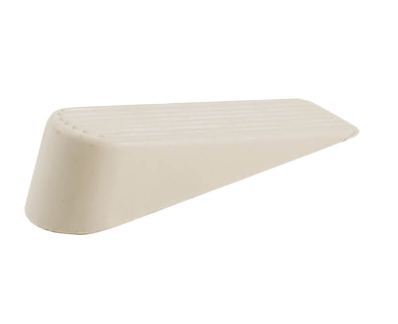 White Rubber Wedges - 2 Per Card