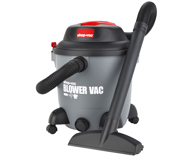 12 Gal Wet/Dry Blower Utility Vac - 6 PHP
