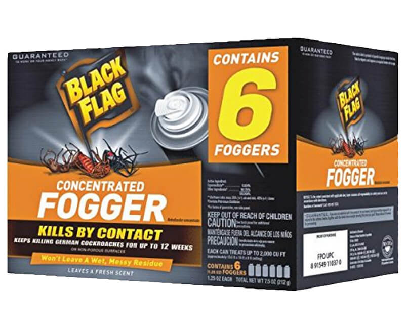 Concentrated Fogger - 6 Pack
