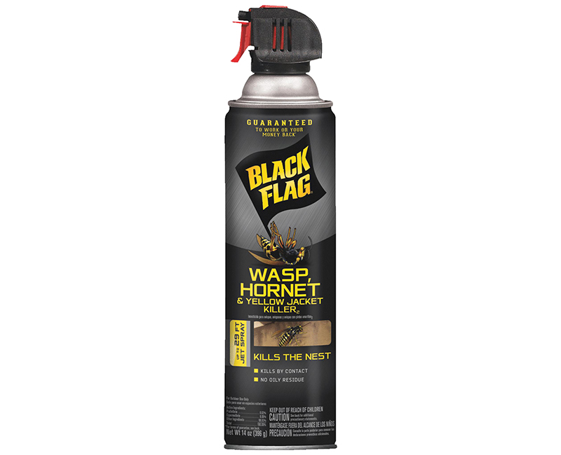 14 Oz. Black Flag Wasp, Hornet, & Yellow Jacket Killer