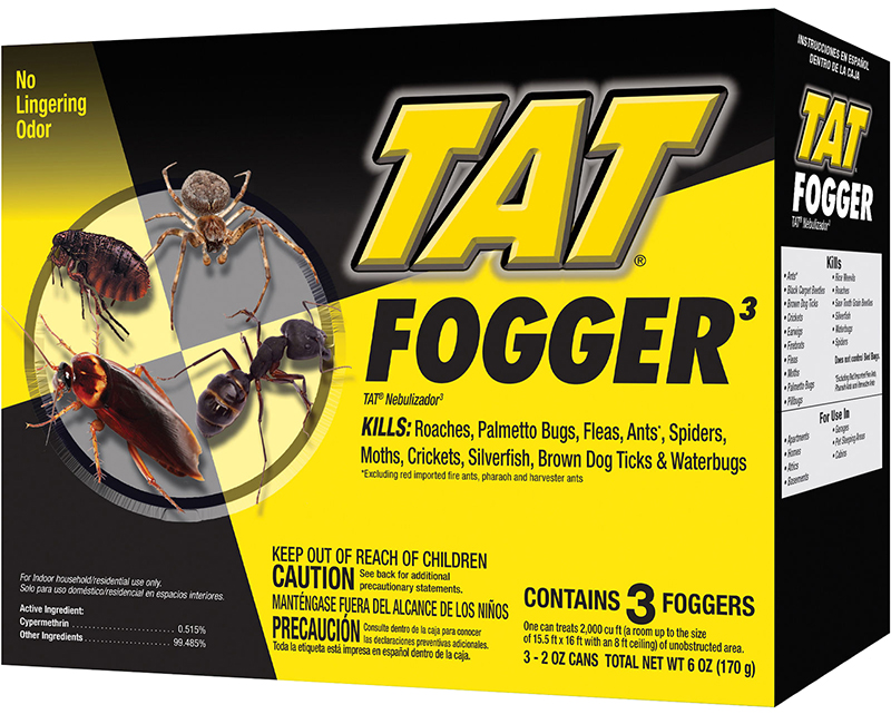 Tat 2 Oz. Concentrated Fogger - 3 Pack