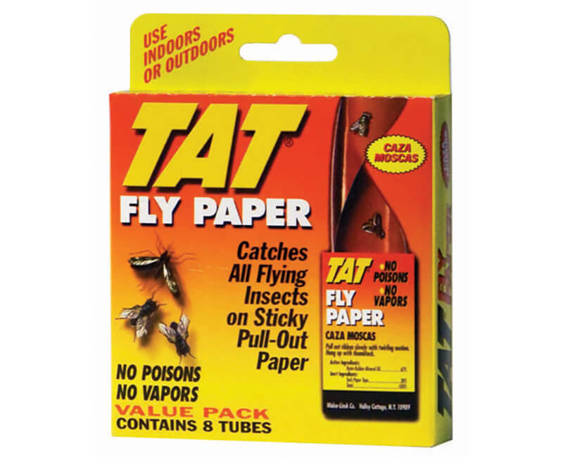 Tat Fly Paper Ribbon - 8 Pack