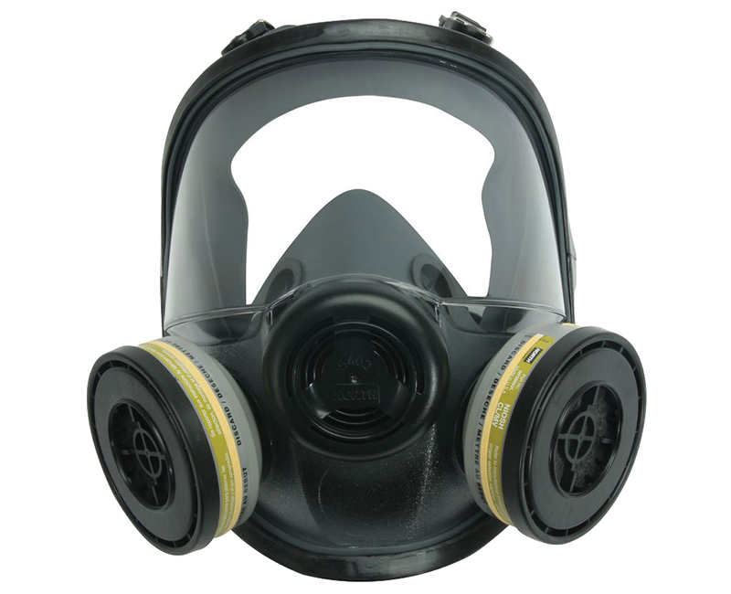 Full Facepiece Respirator W/ Spray Paint Respirator Medium