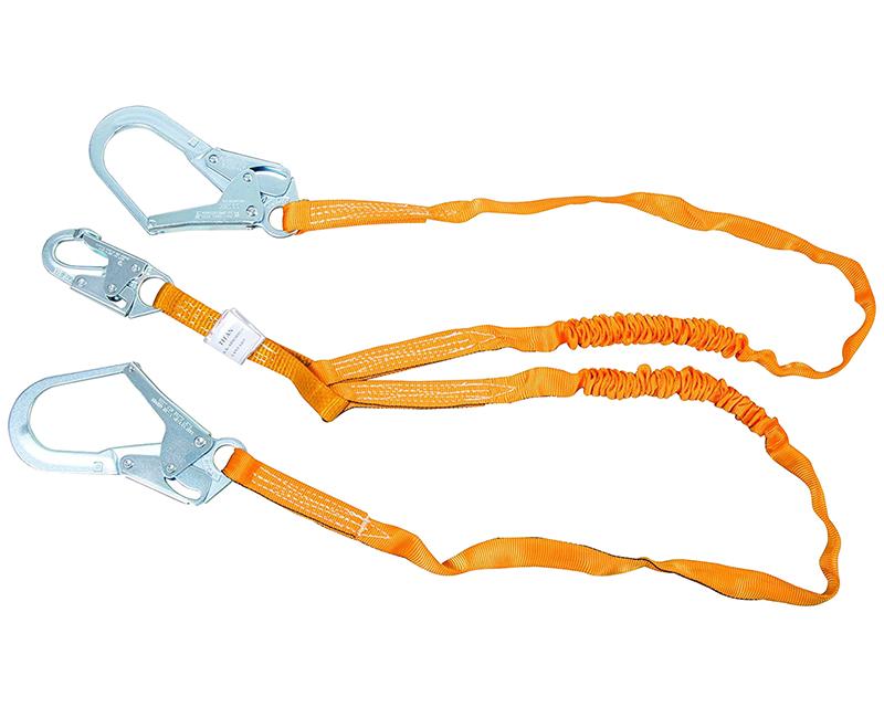 Double Leg Lanyard W/ Lock Rebar Hooks