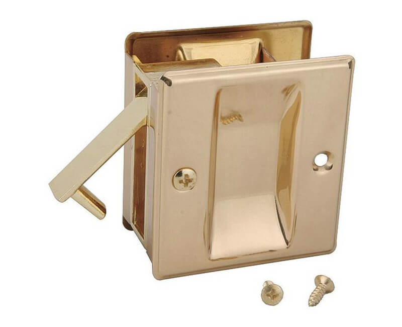 Pocket Door Lock - Passage US3