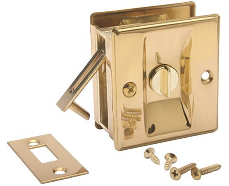 Pocket Door Lock - Privacy US3