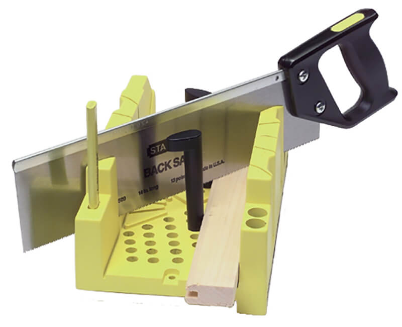 Clamping Mitre Box With Saw