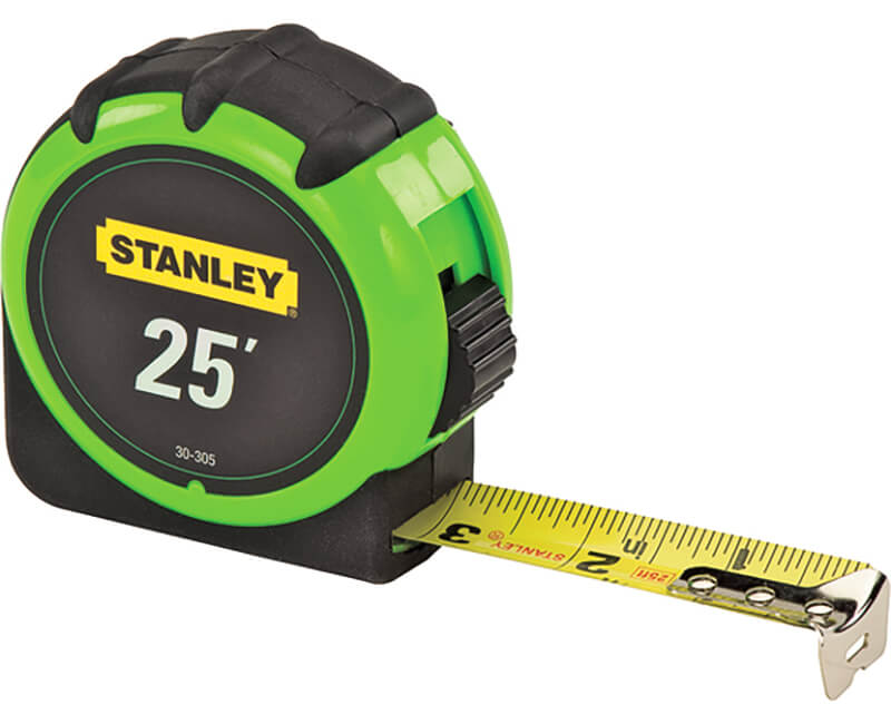 25' High-Visibility Tape Measure