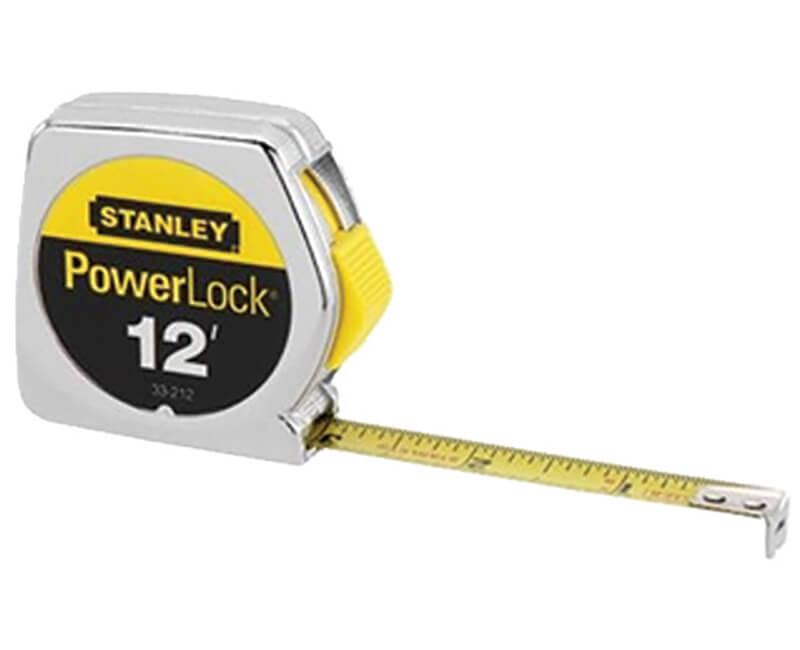 12' PowerLock Pocket Tape Measure
