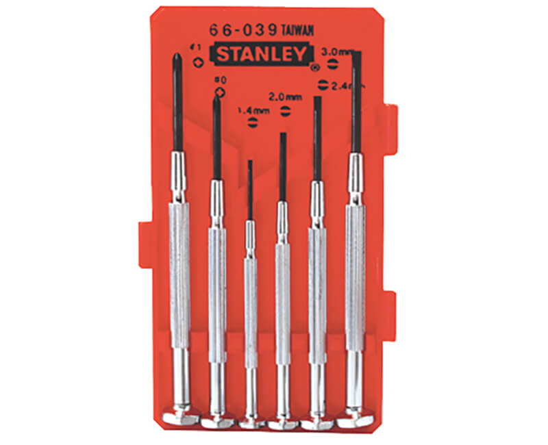 6 PC. Jewelers Screwdriver Set