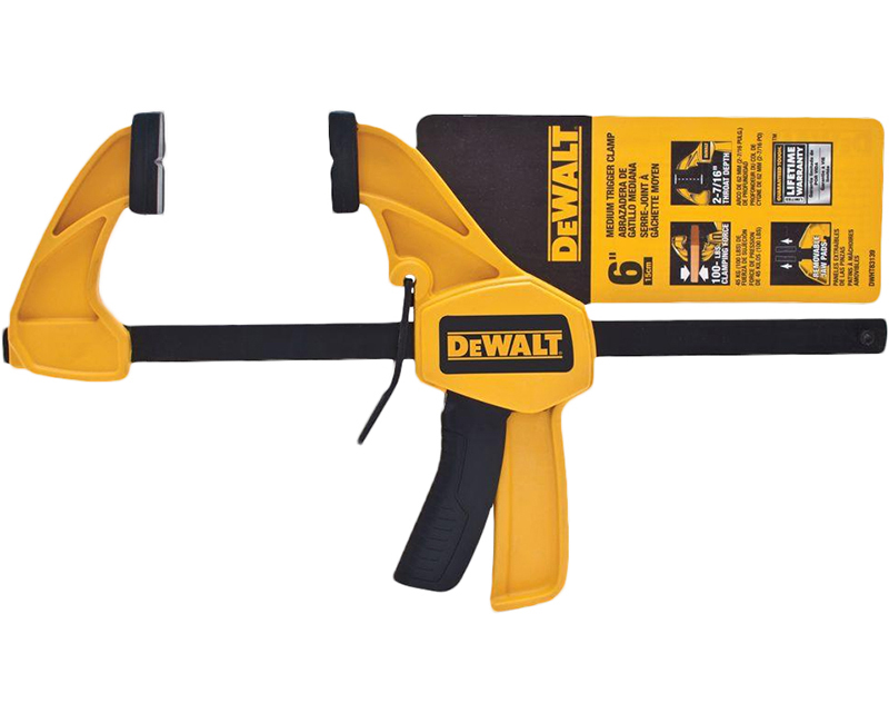 "Dewalt Clamp 6"" Medium"