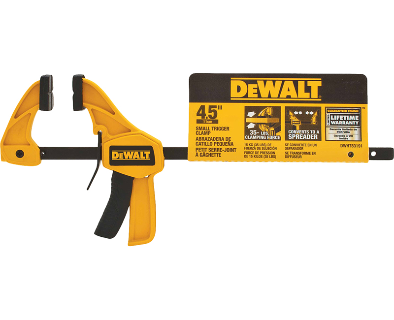 Dewalt Small Clamp - Single