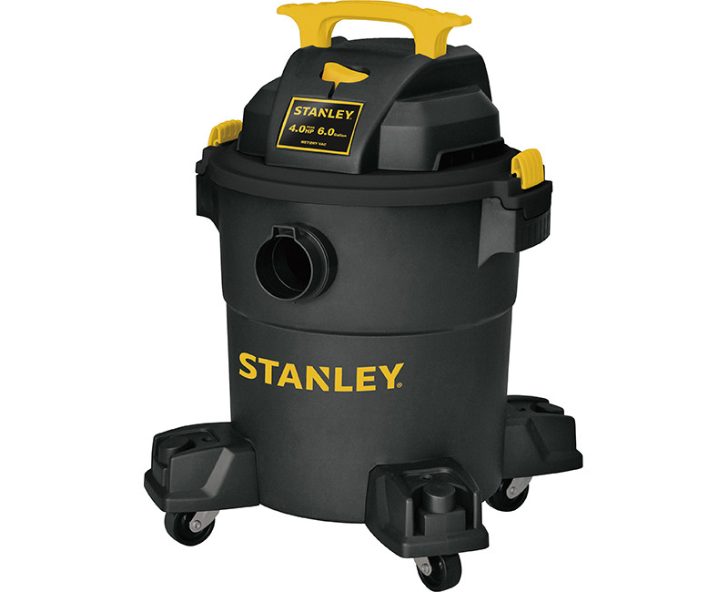 6 GALLON POLY WET DRY VAC 4.0 PHP MOTOR