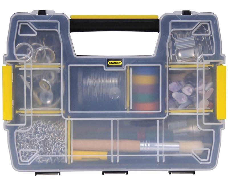 """2.9"""" H x 11.5"""" L x 8.5"""" W Sort Master Light Tool Storage & Organizer"""
