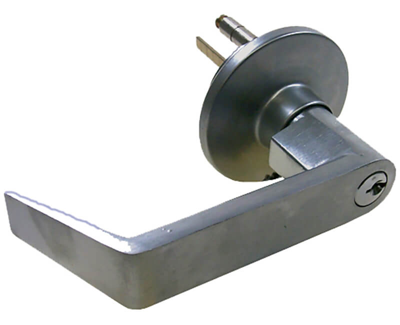 Entry Lever For Panic Device