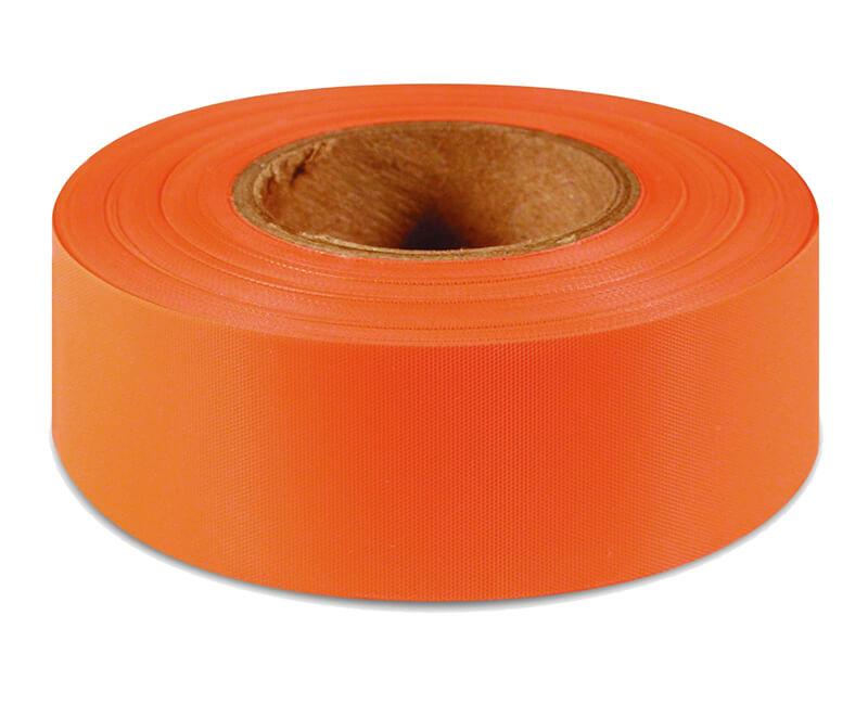 "1-3/4"" X 150' Flagging Ribbon - Orange Glo"