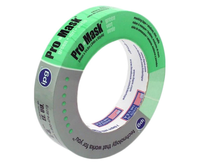 "1"" X 60 YD. Pro-Mask Green Tape"