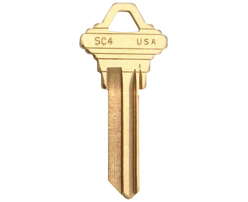 KEY BLANK 250 BOX SCHLAGE 35-101C 6 PIN BRASS